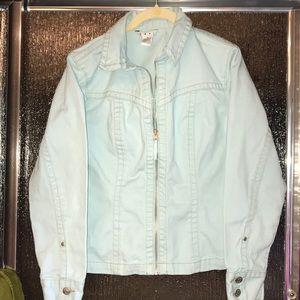 Cabi Aqua Jean Jacket